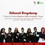 SELAMAT BERGABUNG, PM BEASISWA AKTIVIS NUSANTARA ANGKATAN 9 BOGOR
