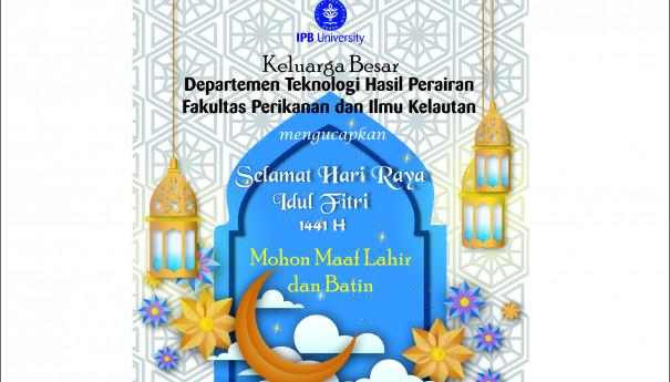 Selamat Idul Fitri 1441 H, THP
